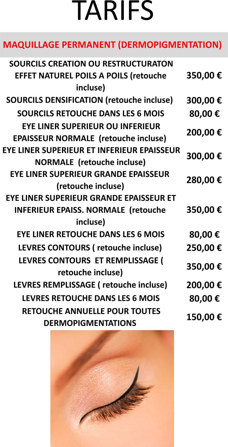 Maquillage Permanent Dermopigmentation Hbeaute Institut De